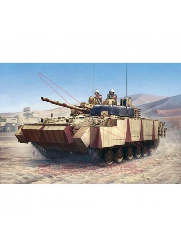 Maqueta tanque BMP-3 (UAE) w/ERA. Escala 1/35