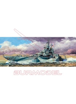 Maqueta Trumpeter HMS West Virginia BB-48 1945