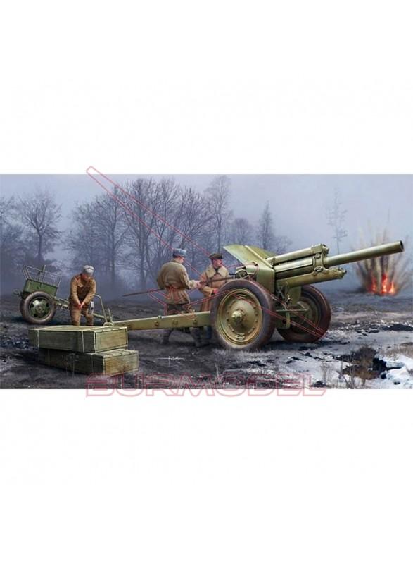 Maqueta Soviet 122mm Howitzer 1938 M-30 1:35