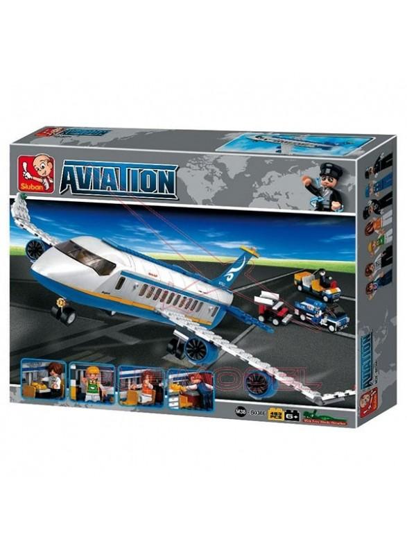 Maqueta infantil para montar avión