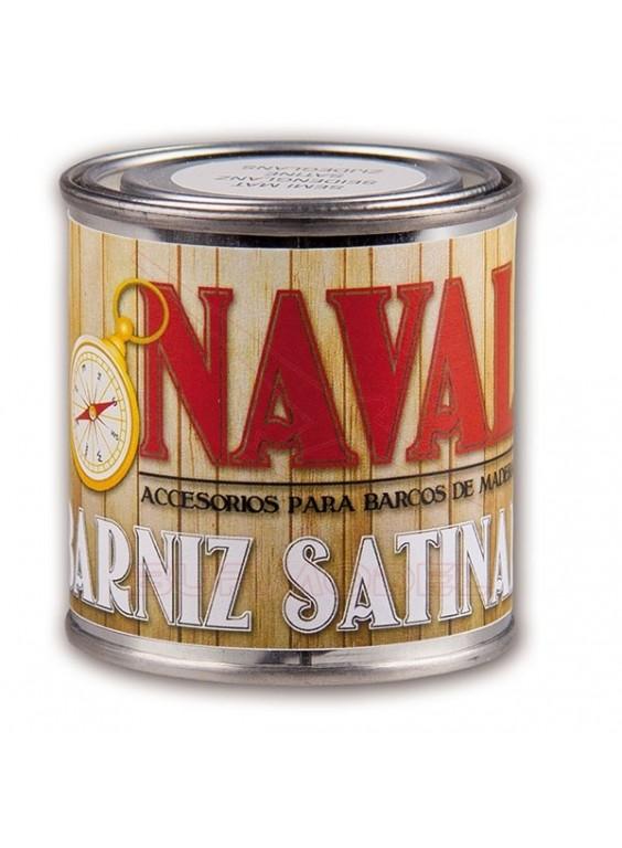 Barniz satinado en lata para barcos de madera