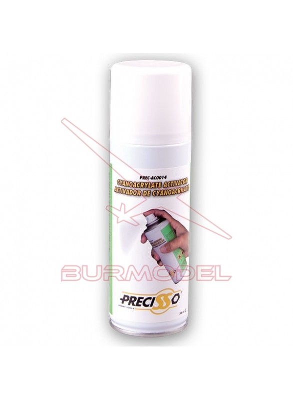 Activador de cyano en spray 150ml Precisso