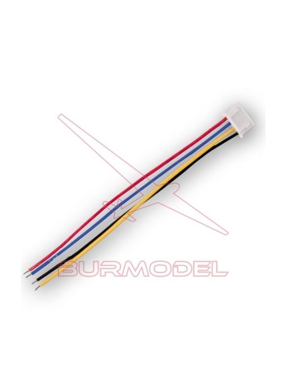 Cable con conexión equilibrador bateria lipo