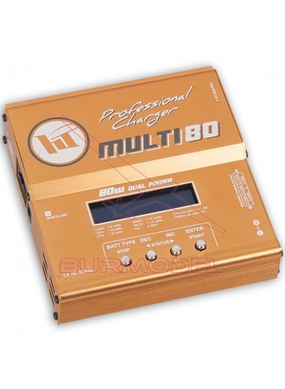 Cargador balanceador 12/220v digital 80w