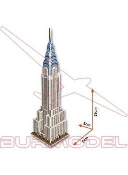 Puzzle 3D Chrysler Building. 22 piezas
