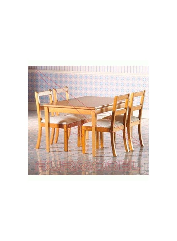 Mesa de cocina madera