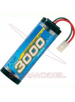 Batería 7,2 v powerpack 3000 conector tamiya