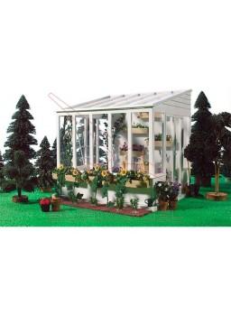 Invernadero para ampliar casas de muñecas