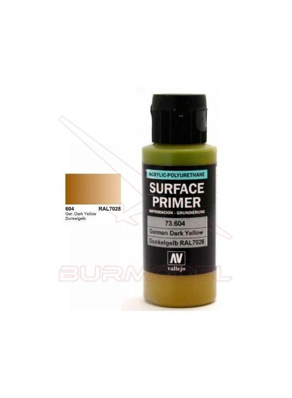 Imprimación acrílica amarillo oscuro RAL7028