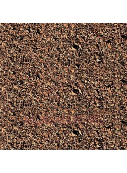 Campo de tierra marrón