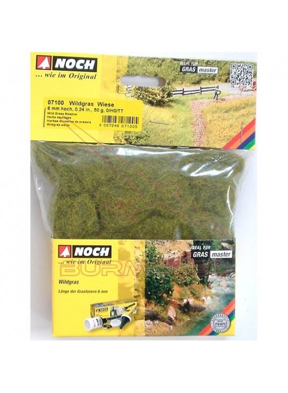 Hierbas verdes de pradera 6mm