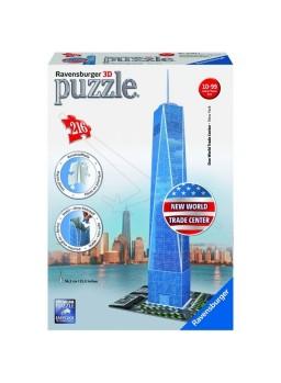 Puzzle 3 dimensiones Freedom Tower 216 pzs
