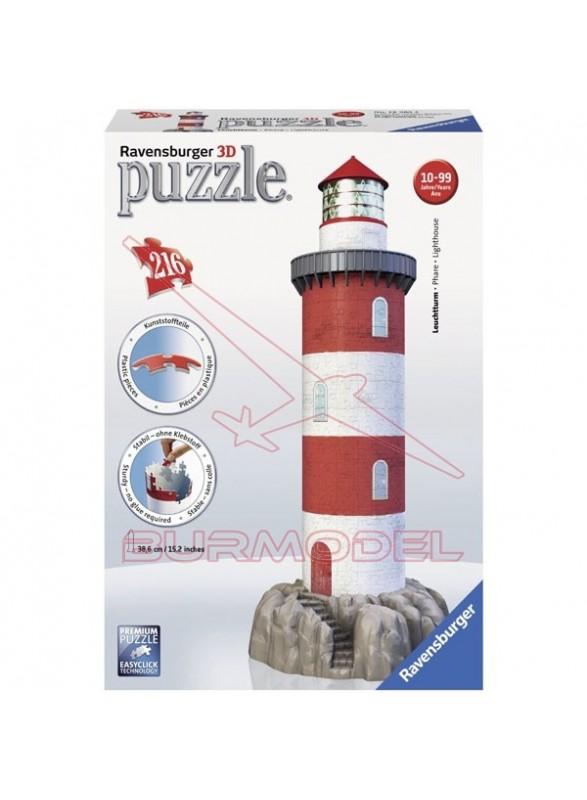 Puzzle en 3 dimensiones Nuevo Faro