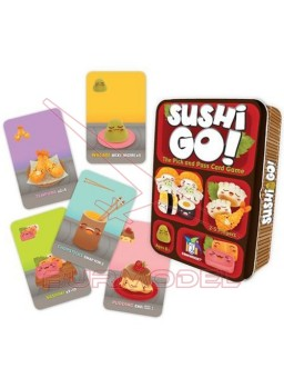 Jueo de cartas Sushi Go