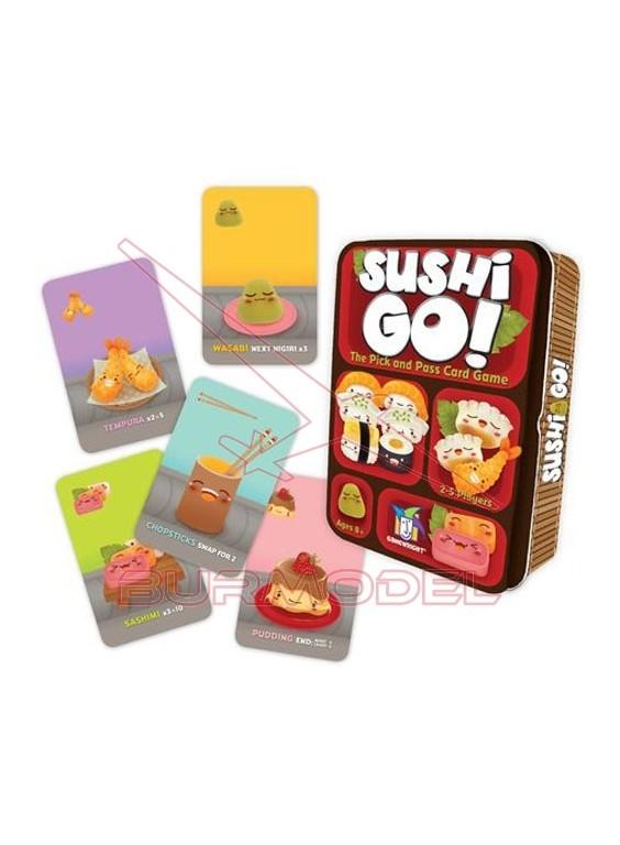 Jueo de cartas Sushi Go!