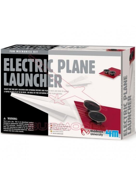 Propulsor de aviones eléctrico