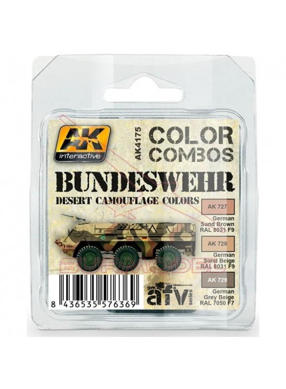 Colores de camuflaje del desierto para vehículos