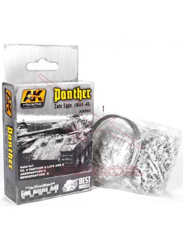 Cadenas del tanque Panther (finales)