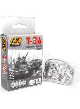 Cadenas del tanque T-34