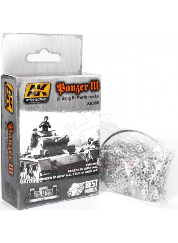 Cadenas del tanque Panzer III