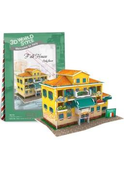 Puzzle 3D Folk House