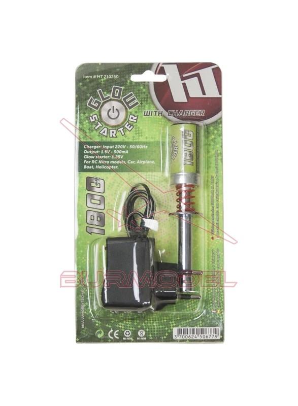 Chispómetro con batería 1800 mAh con cargador