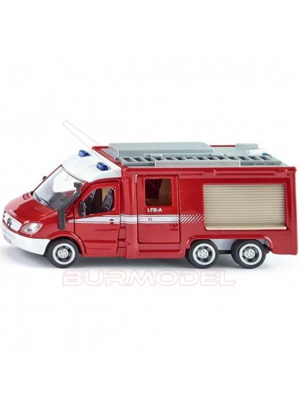 Maqueta Mercedes-Benz de bomberos 1:50