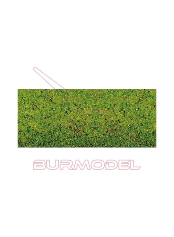 Tapiz de hierba flores plancha 120x60cm