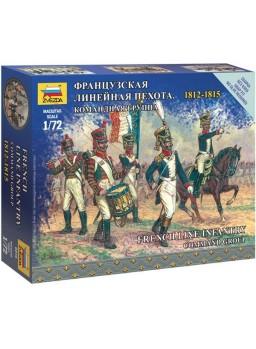 Infantería guerra Napoleónica grupo de mando 1/72