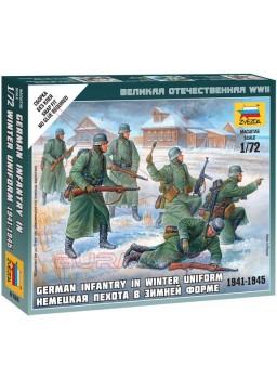 Infantería alemana con uniforme de invierno 1/72