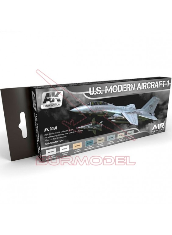 Set aviones US Modern Aircraft Colours