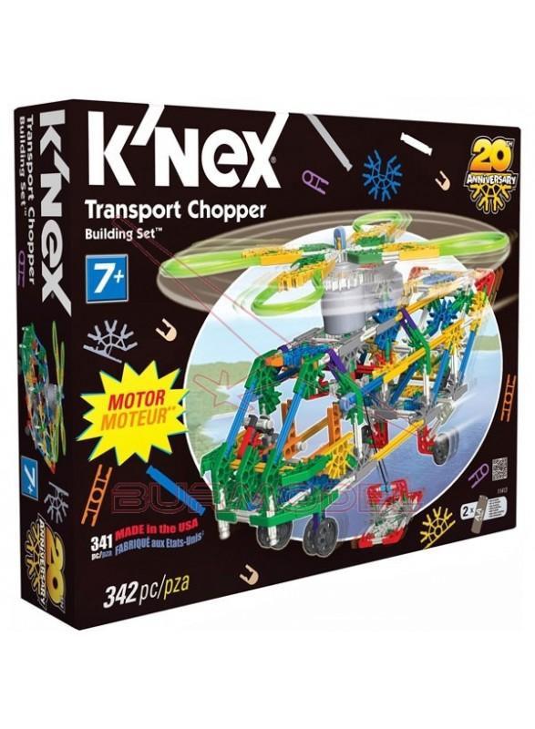 K'Nex Kit de montaje 312 piezas con luces