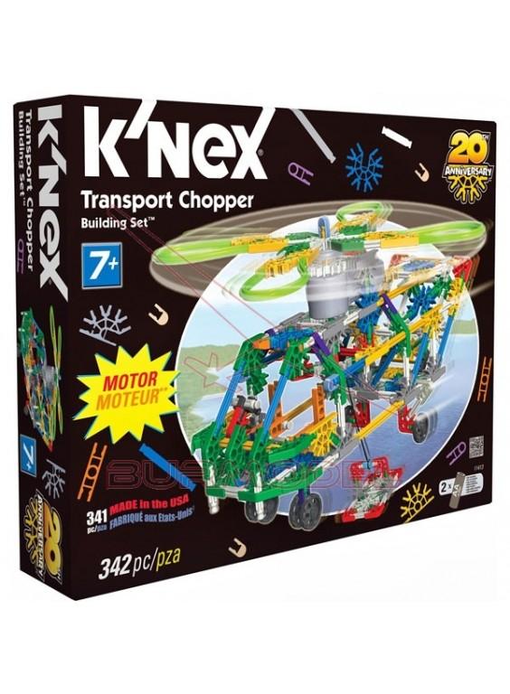 K'Nex Kit de montaje 342 piezas con motor