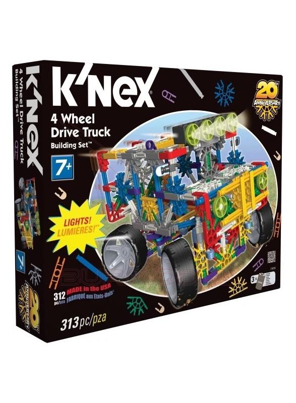 K'Nex Kit de montaje 342piezas con motor