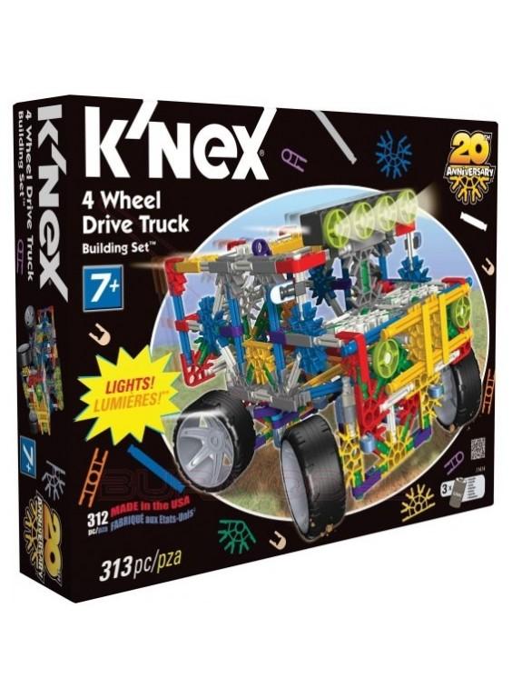 K'Nex Kit de montaje 313 piezas con luces