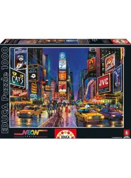 Puzzle de neón 1000 piezas Times Square, New York