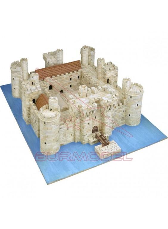 Castillo Bodiam siglo XIV, Inglaterra