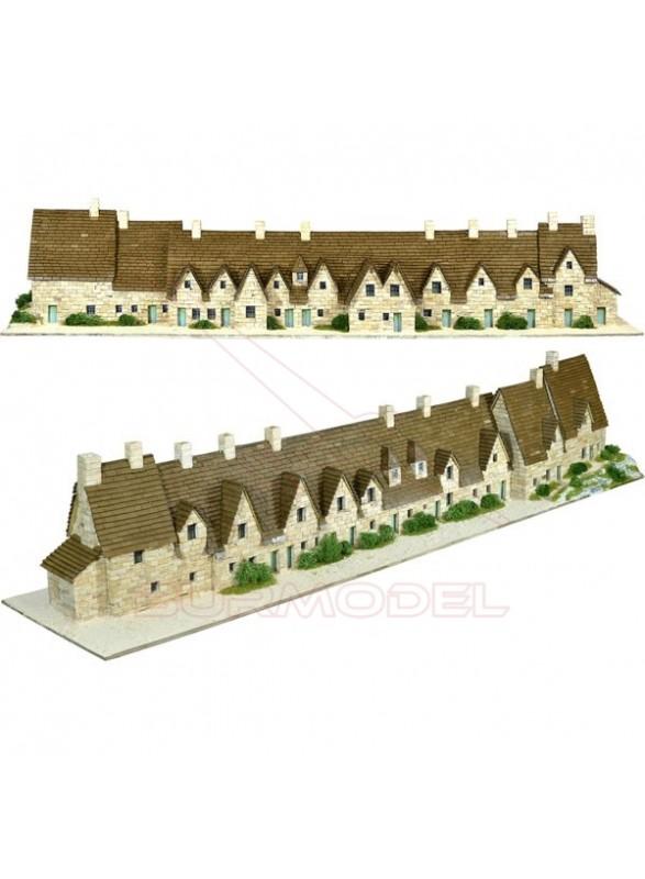 Construcción Bibury Arlington row, Inglaterra