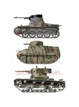 Set de colores Guerra Civil Española 1936-1939 AK