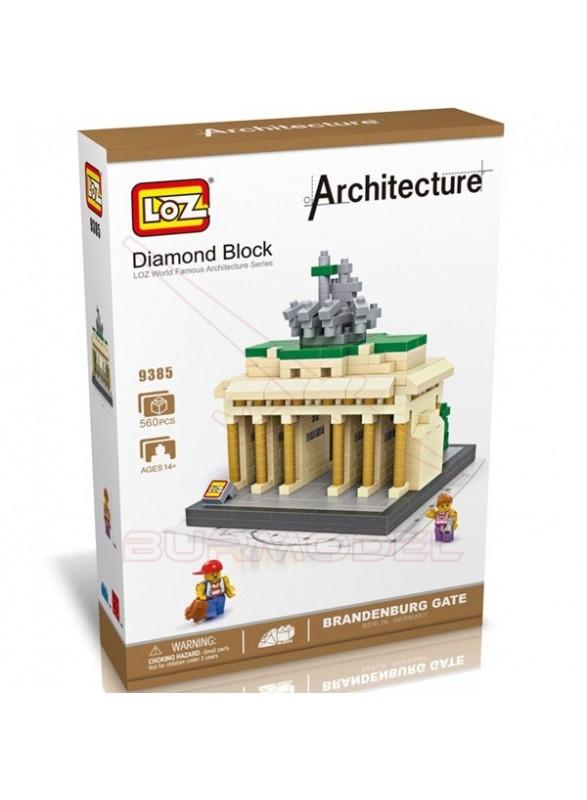 Juego de montaje Puerta de Brandenburgo 560 piezas