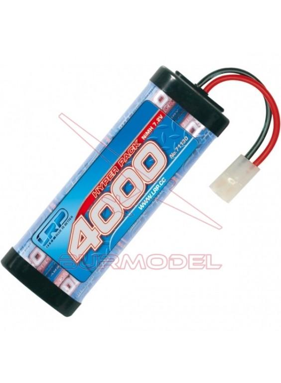 Batería 7,2 v 4000 Mah LRP conector Tamiya
