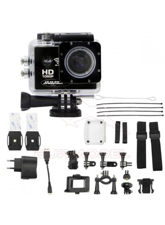 Cámara HD 1080P PRO negra