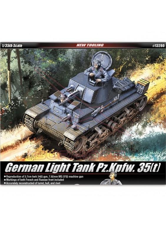 Maqueta tanque alemán PANZERKAMPFWAGEN 35(t) 1/35