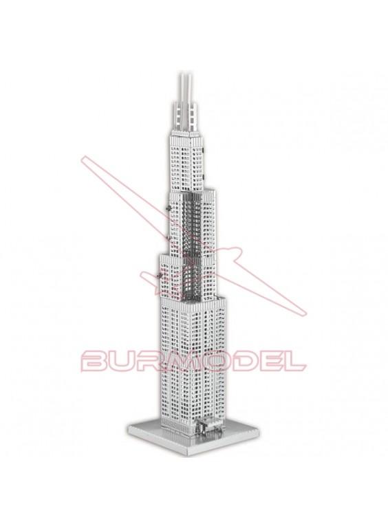 Maqueta de metal Willis Tower 1/3877