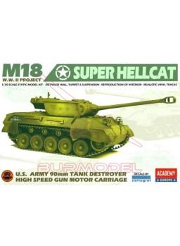 Maqueta tanque USA M18 Super Hellcat WWII 1/35