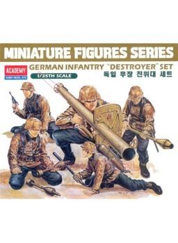 Infantería Alemana Destroyers escala 1/35