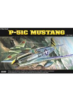 Maqueta para montar avión P-51C Mustang 1/72