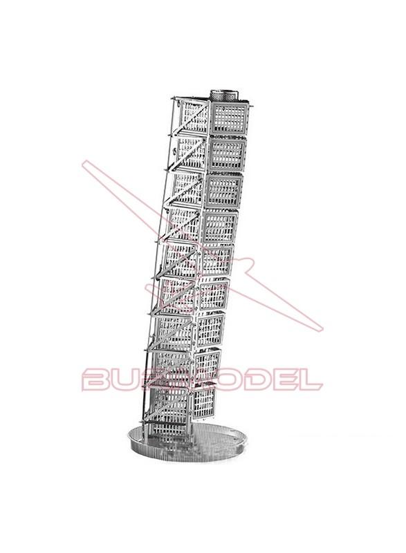 Maqueta de metal rascacielos Turning Torso