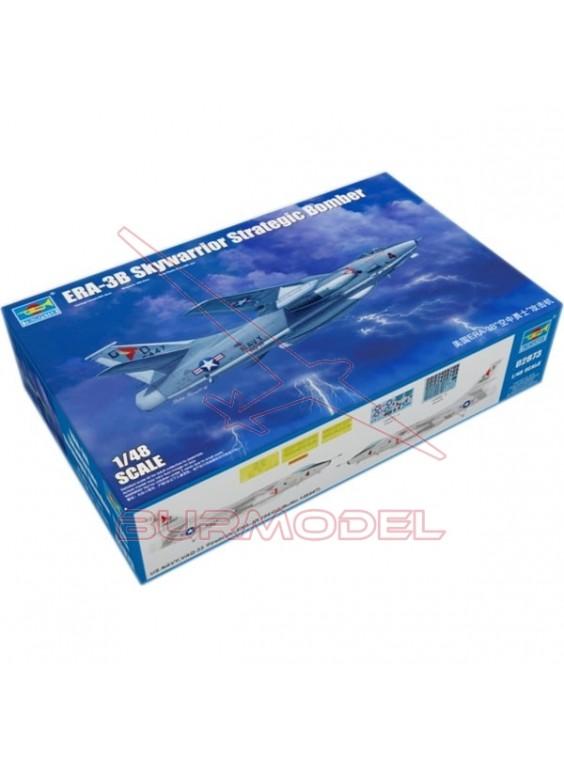 Avión ERA-3B Skywarrior Strategic Bomber 1/48
