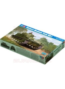 Maqueta tanque Vickers Medium MK I 1/35
